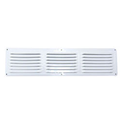 UNDER EAVE LOUVER (416LW) WHITE
