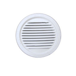 ROUND MINI LOUVER WHITE