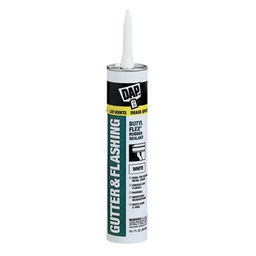 GUTTER & LAP SEALANT CAULK WHITE